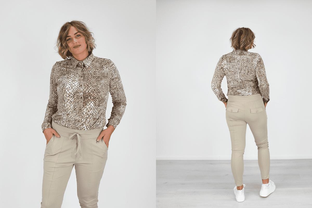 Travelstof broek - Fashion to Fashion