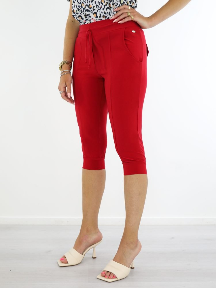 angelle-milan-capri-broek-travelstof-rood