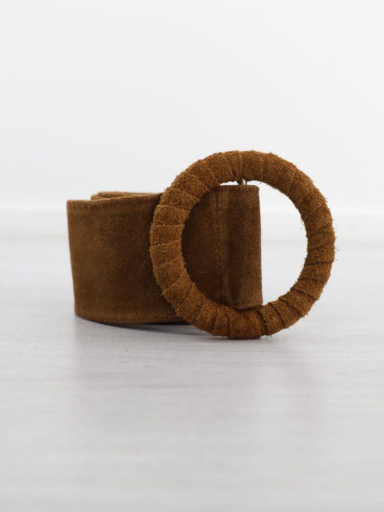 bruine-riem-van-suede