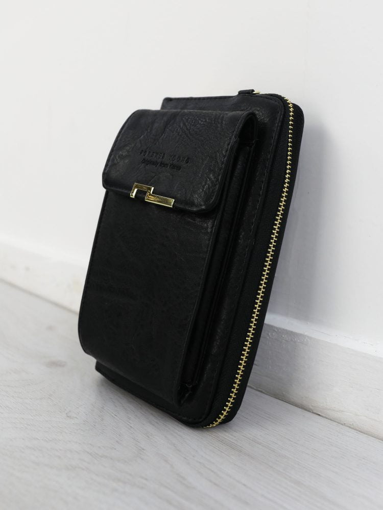 telefoon-tas-in-zwart