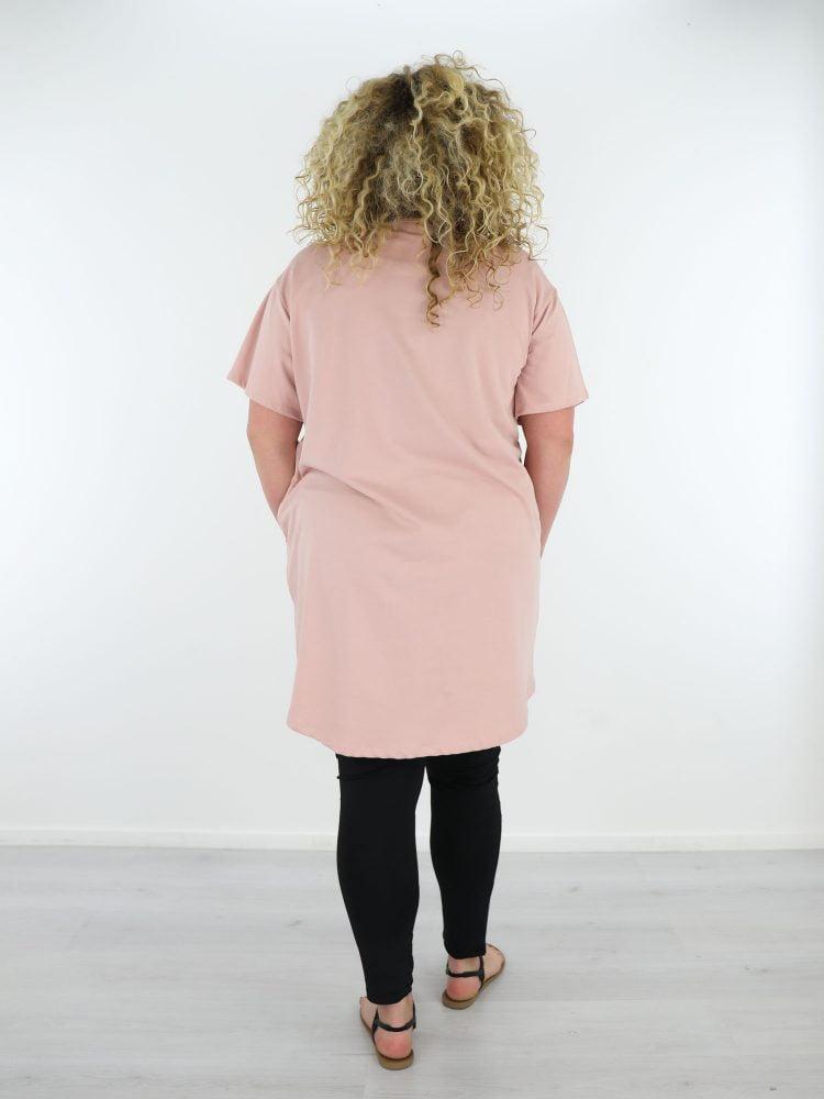 onesize-plussize-sweaterjurk-roze