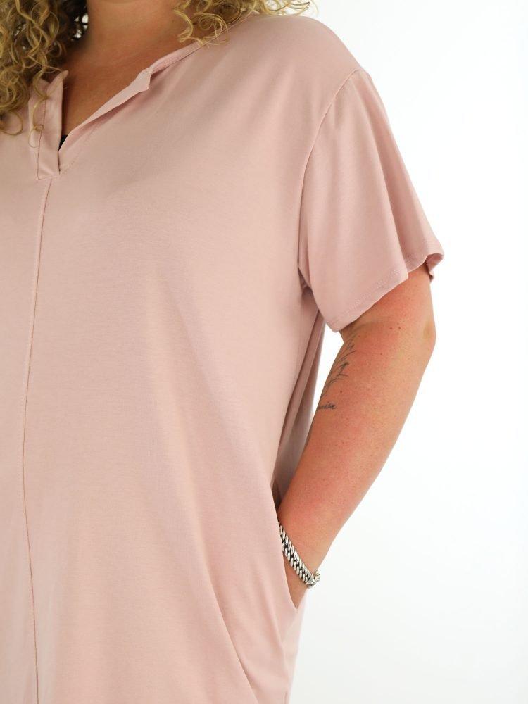 roze-jurk-sweater-one-size