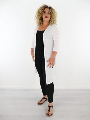 wit-dun-geweven-vest-plus-size