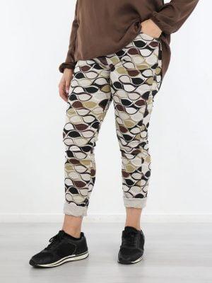 abstracte-rib-broek-in-beige-met-zwart-en-bruine-kleuren