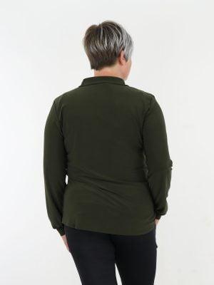 angelle-milan-travel-blouse-uitgevoerd-in-egaal-army-groen