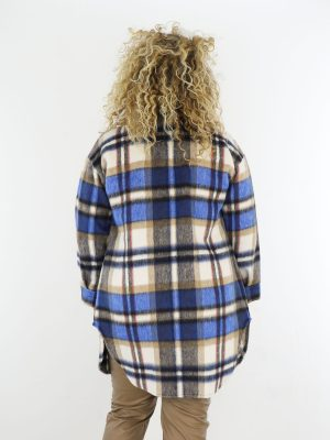 beige-blauwe-lang-geruite-blouse-grote-maten
