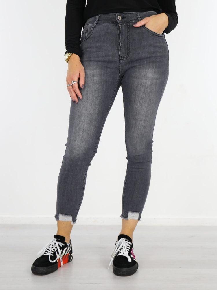 gerafelde-jeans-grijs