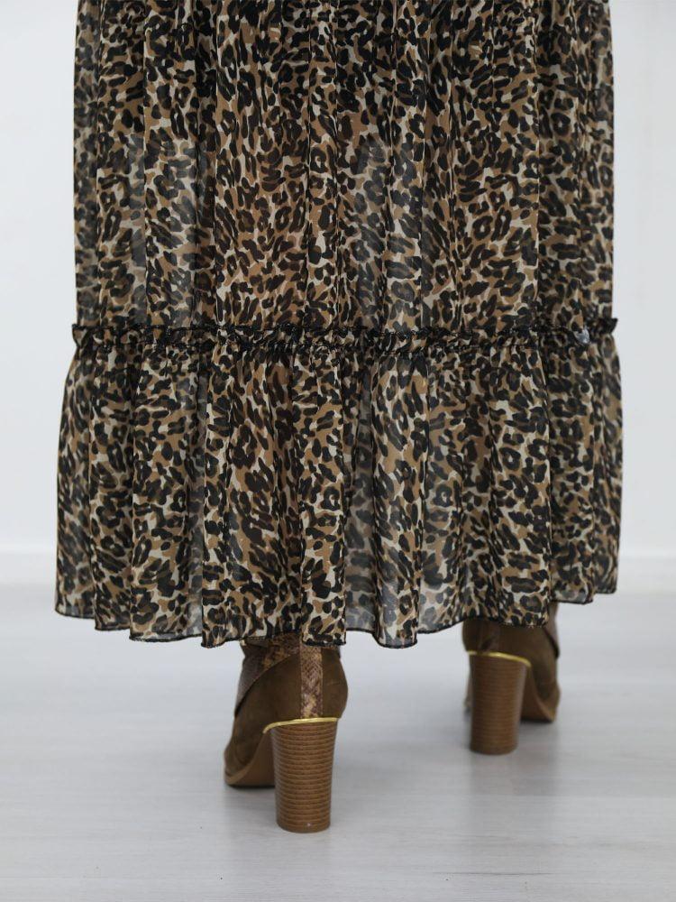 luipaard-print-lange-rok-in-de-kleuren-zwart-en-beige-met-touwtjes-van-g-ricceri