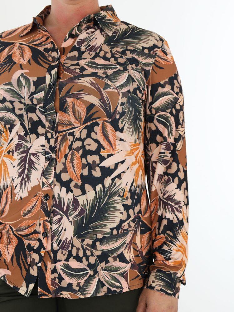 multicolor-travelstof-blouse-met-bladerprint-van-angelle-milan
