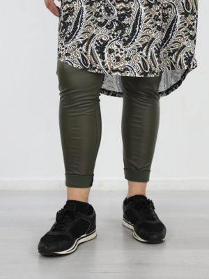 basic-pu-legging-in-een-egaal-groene-kleur