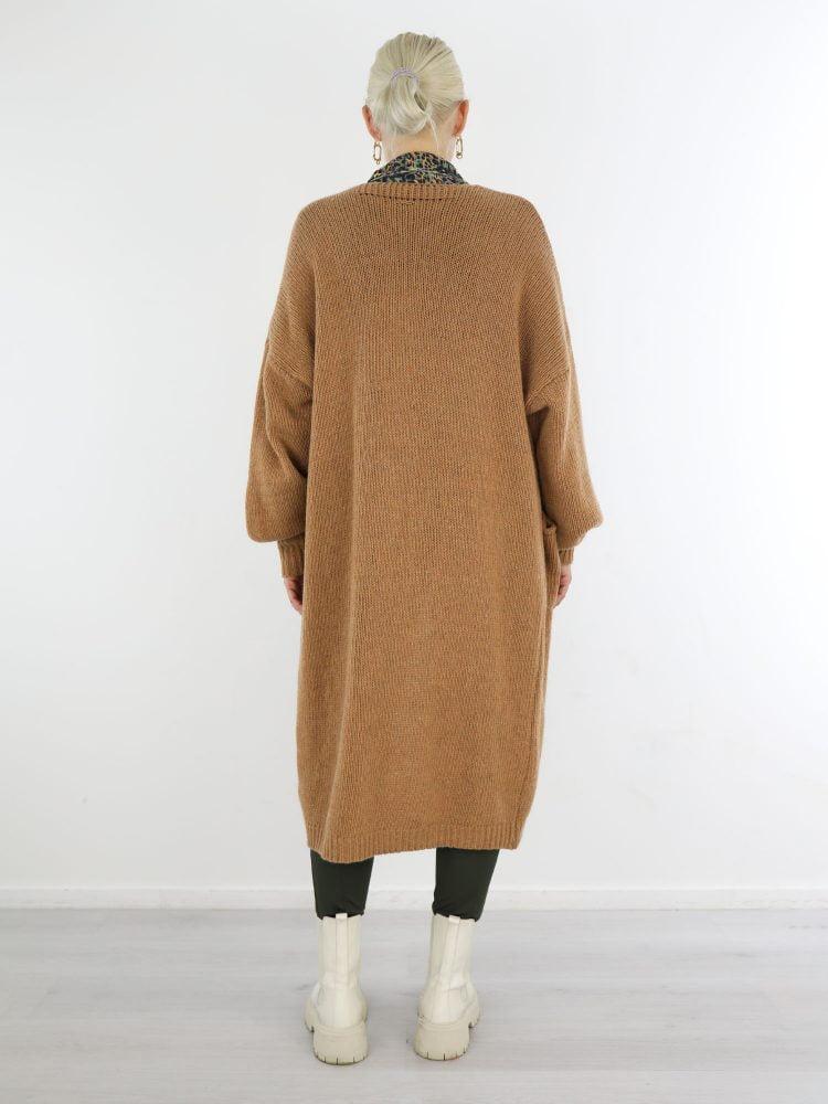 g-ricceri-vest-in-camel-met-ballonmouw-en-zakken