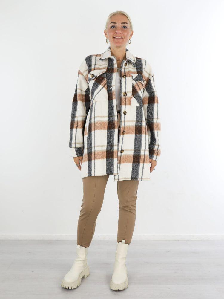 roomwit-geruite-blouse-met-camel-en-zwarte-accenten